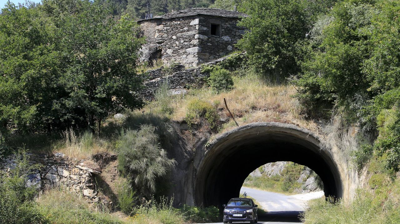 Túnel de A Adega, un núcleo que se rehabilitará