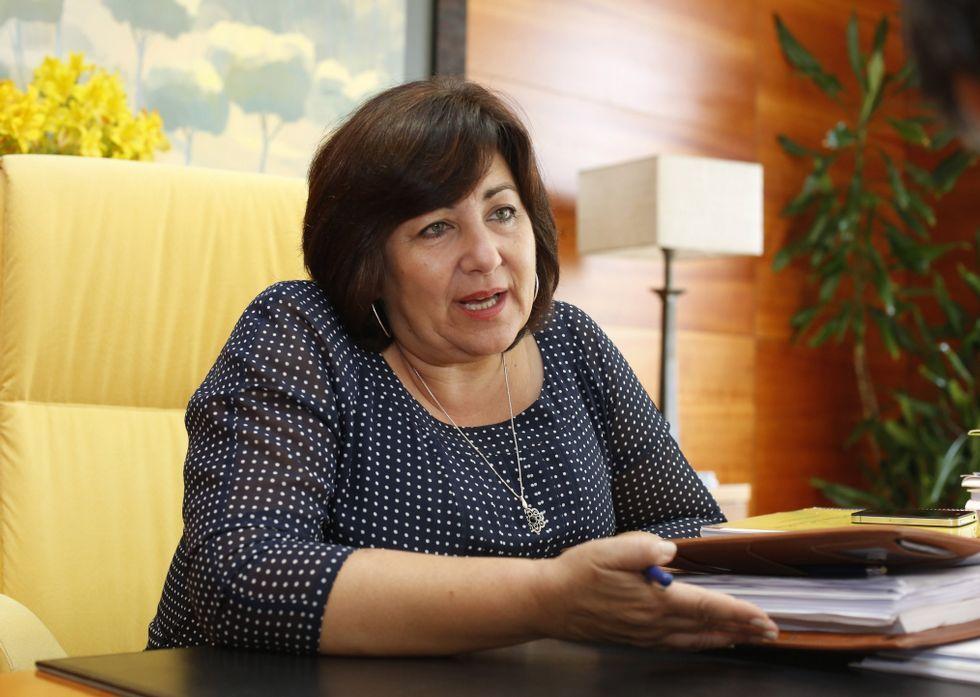 González dejará de ser alcaldesa de Sanxenxo el próximo sábado, tras dos mandatos consecutivos.