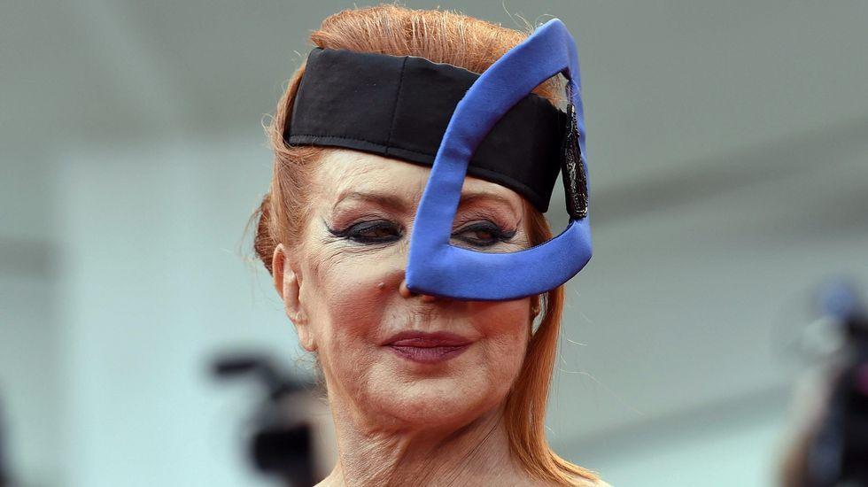 La actriz italiana Marina Ripa di Meana