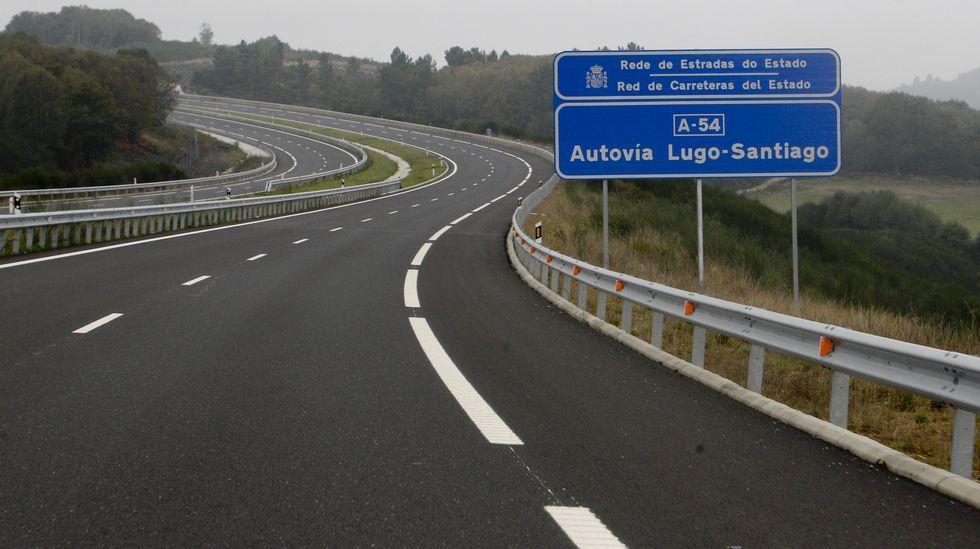 Viaje Lugo-Santiago por la N-634 y la A-6 detrás de camiones