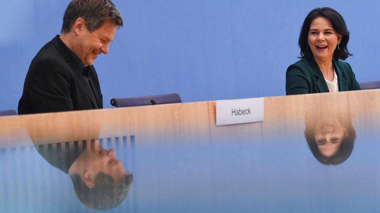 Markus Soeder y Armin Laschet