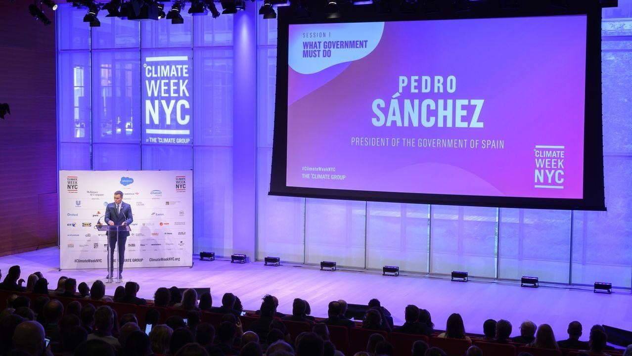 Pedro Sánchez, participa en la inauguración de la Climate Week en Nueva York
