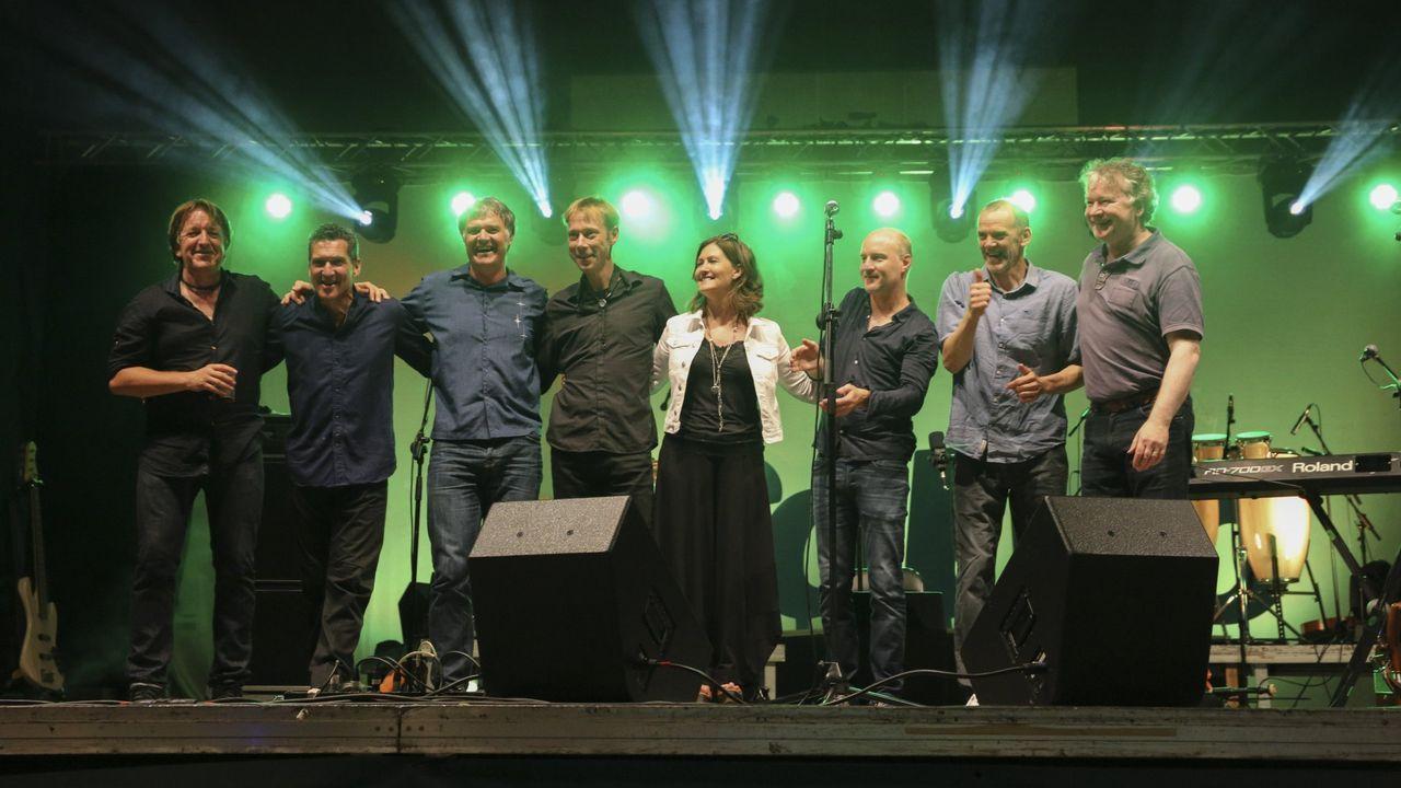Grupo escocés de música tradicional Capercaillie