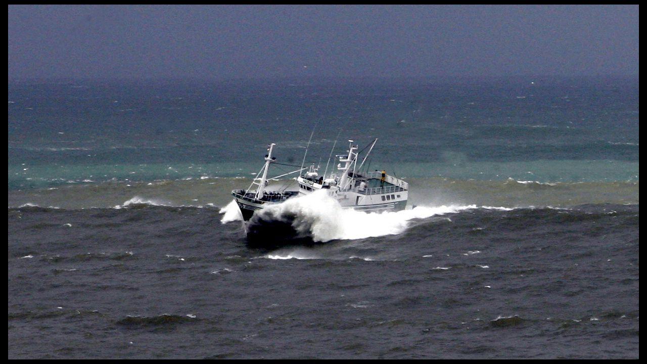 Pesqueros como este de Celeiro que faena en Gran Sol (foto de archivo), dependen de las negociaciones entre la Unión Europea y el Reino Unido