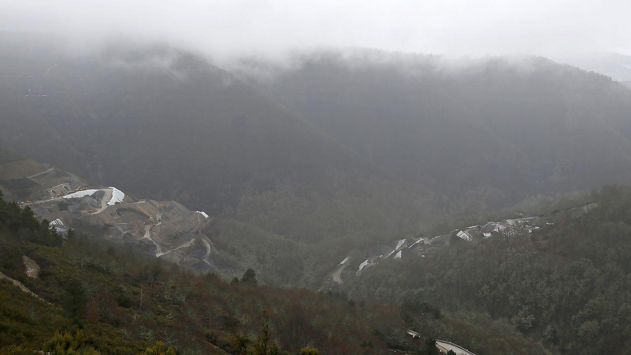 Esta fotografía del viaducto de Teixeiras fue tomada a principios de marzo