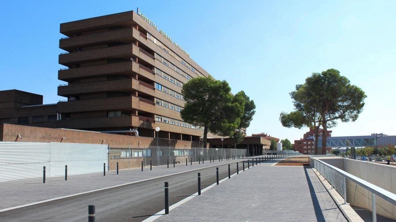 Hospital de Albacete donde están ingresadas la bebé y su abuela