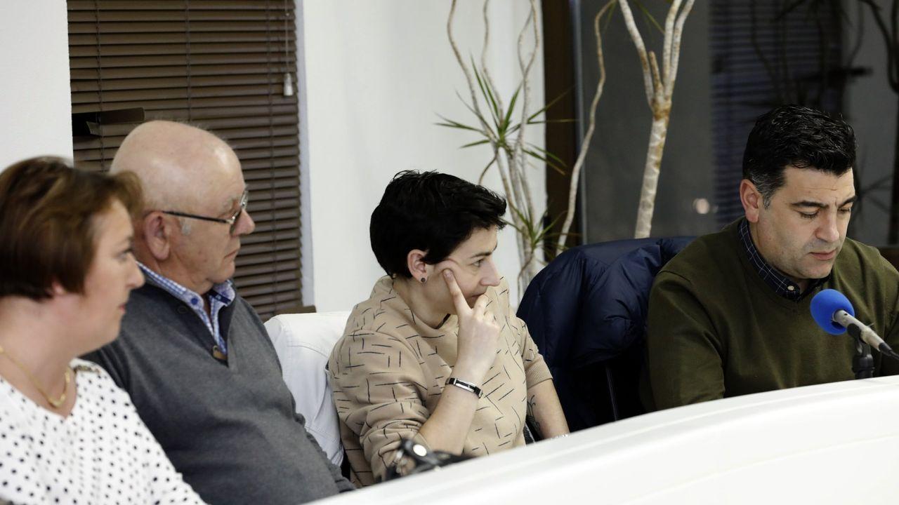 Foto de archivo de concejales del PP en la corporación focense