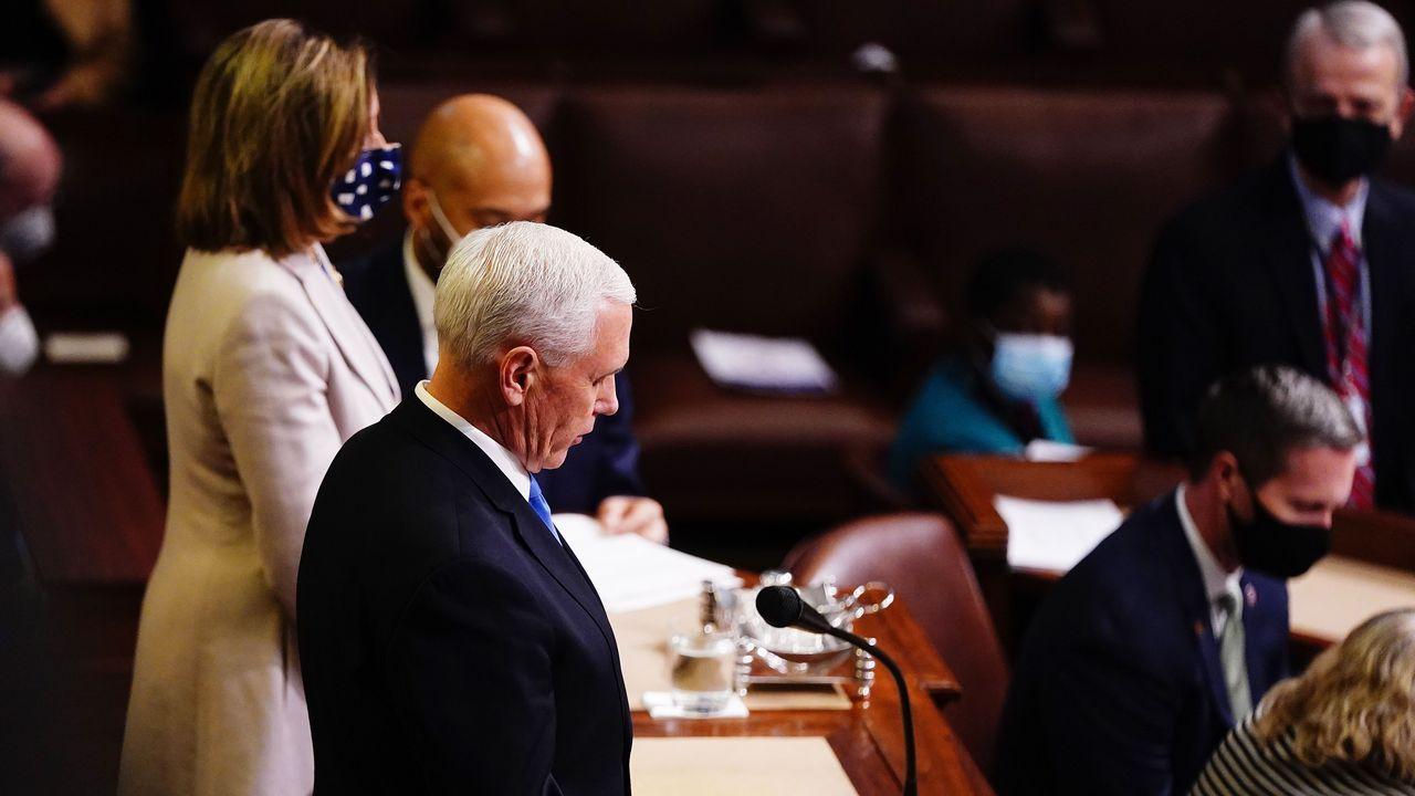 Chan de Gándara-Galician Brew.Mike Pence ratifica la victoria de Joe Biden en las elecciones de Estados Unidos