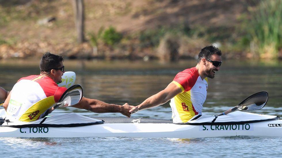 Craviotto y Toro consiguen el oro.Saúl Craviotto repitió podio en Río 2016 con el bronce en el K1 200 metros