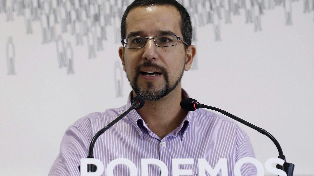Sergio Pascual, purgado. El primer secretario general de Organización del partido fue apartado de su cargo en el año 2016 por su cercanía con Íñigo Errejón