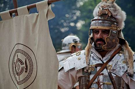 Los romanos toman Xinzo.Festa do Esquecemento en Xinzo de Limia