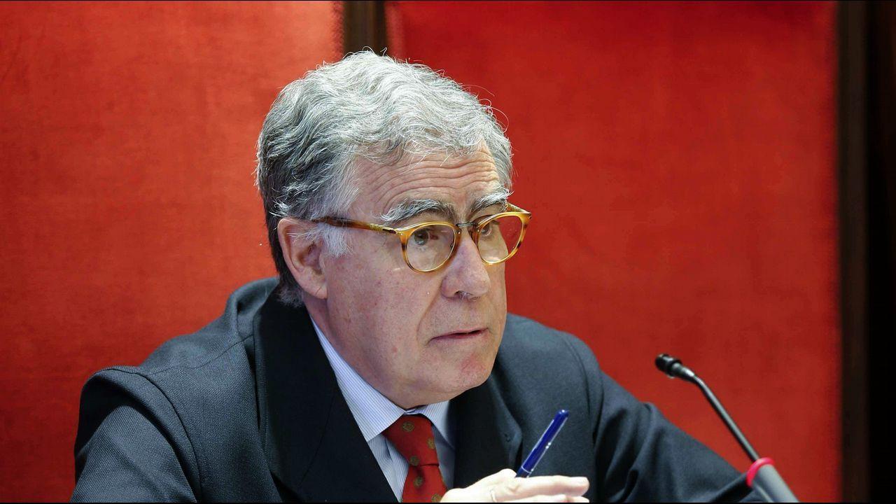 El presidente del Tribunal Superior de Justicia de Asturias (TSJA), Ignacio Vidau Argüelles