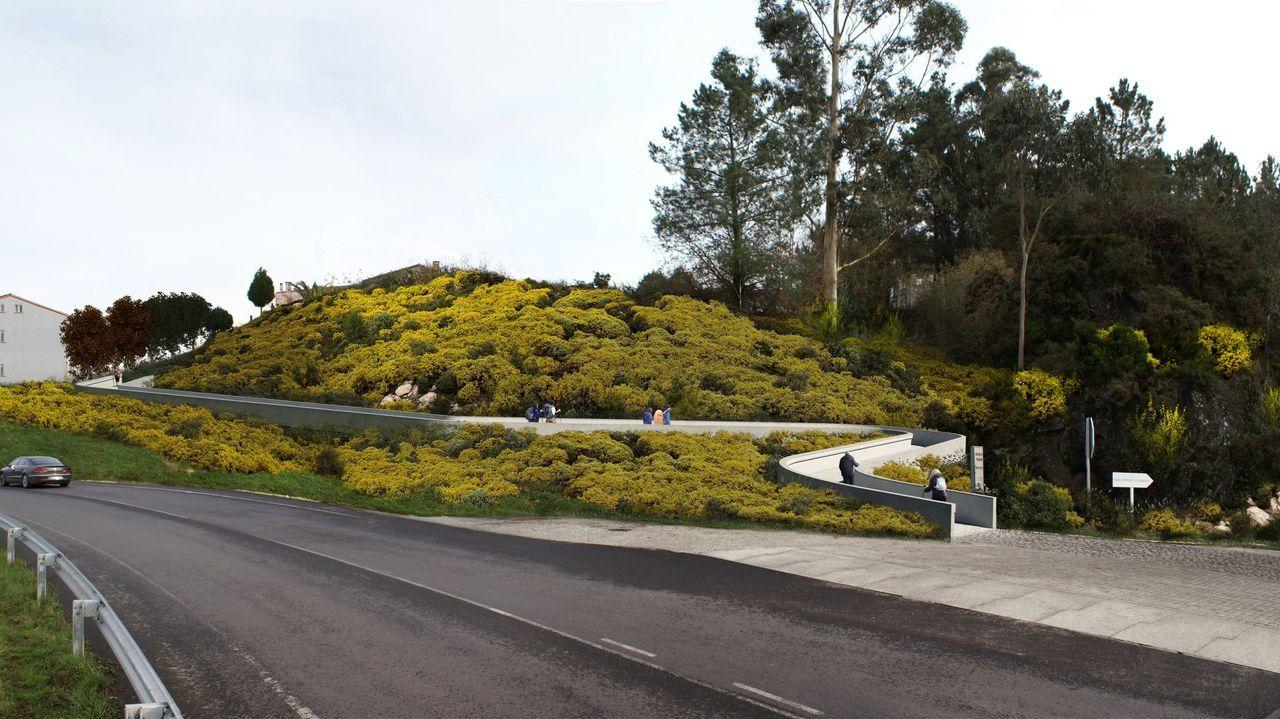 La exposición «A paisaxe e a súa pegada» abre sus puertas en la Casa do Cabido