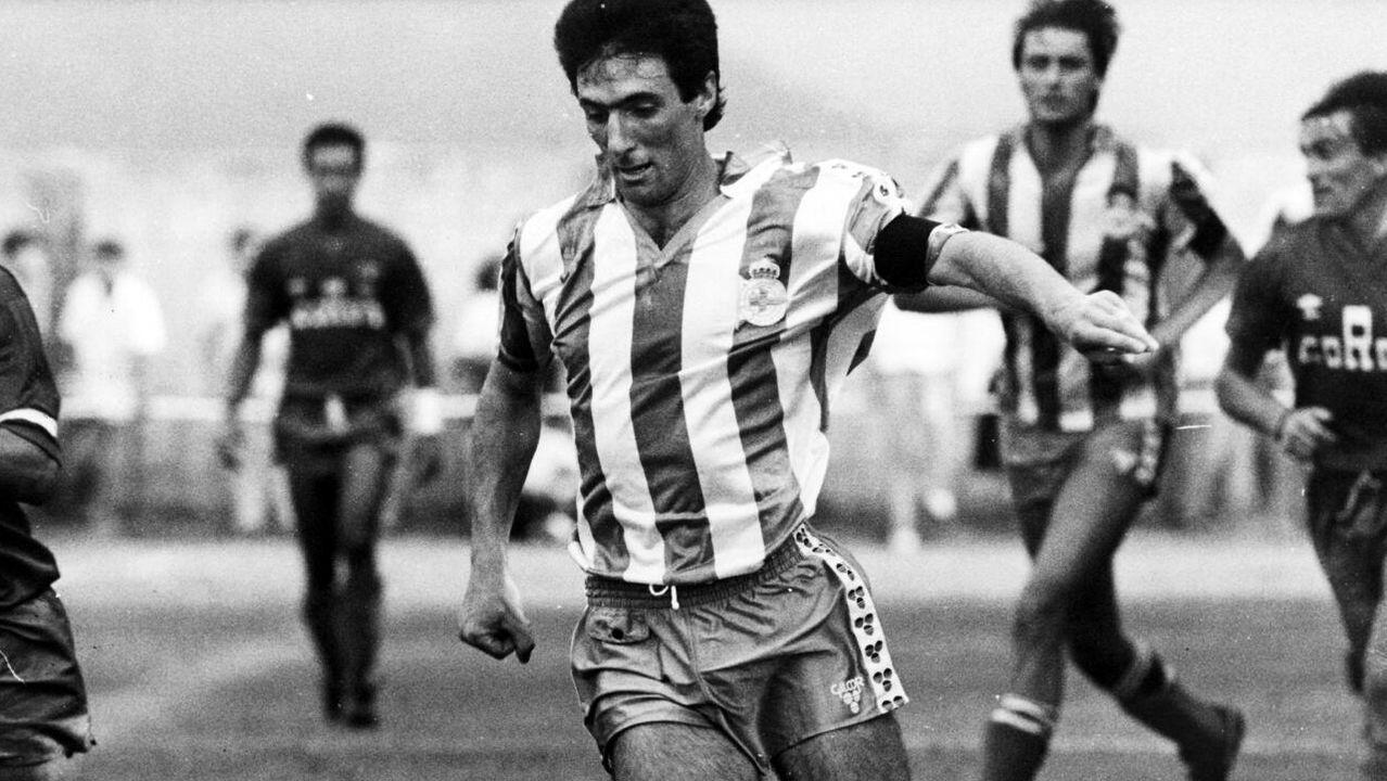 La trayectoria de Fraga en el Club Lemos en imágenes.HERMELINO BEN ( EL MARADONA DE GALDO) EN LA PLAZA PASTOR DÍAZ DE VIVEIRO.