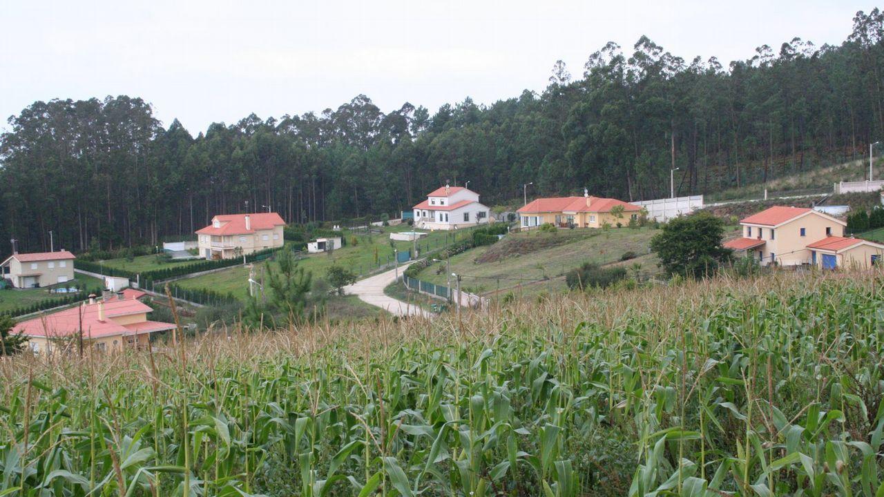 Meilán fue despedido con una ceremonia religiosa que el vicario del Opus Dei en Galicia, Ángel Lashera, ofició en San Jorge, en A Coruña
