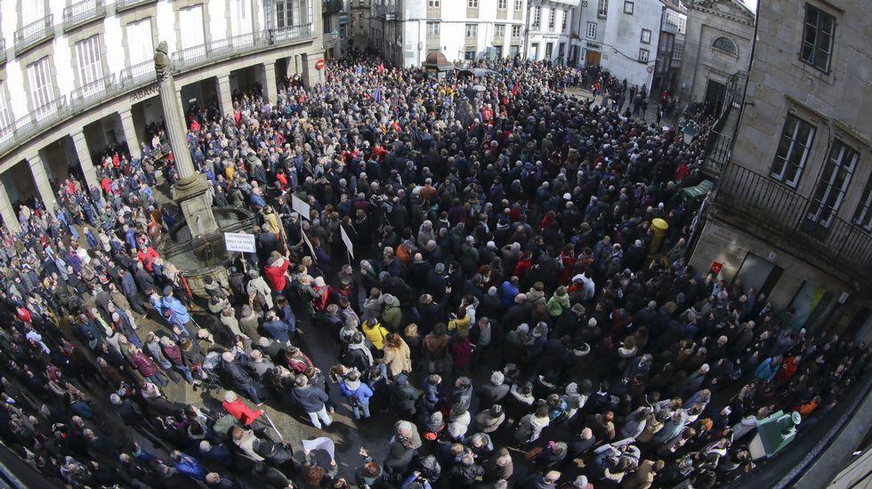 Concentración en Santiago