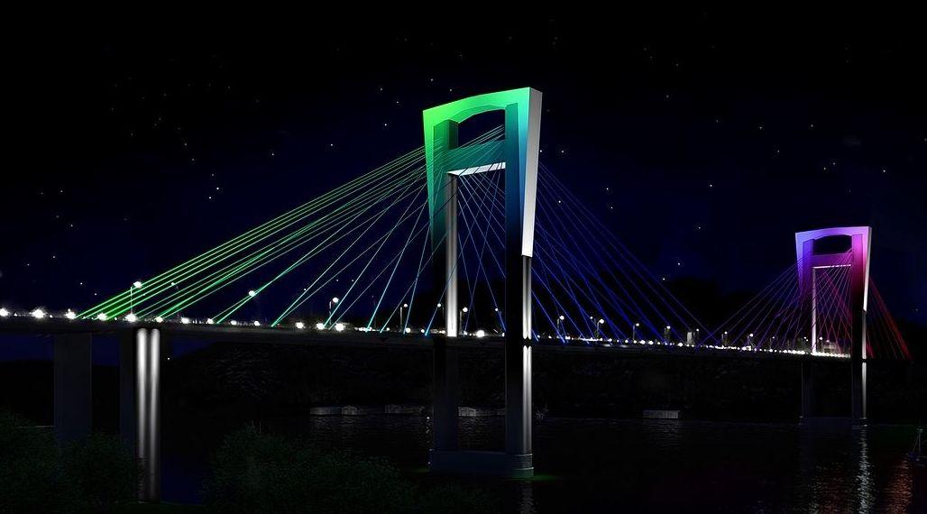 ¿Cómo quedaría Rande iluminado de colores?.Obras de adaptación a la alta velocidad del trazado ferroviario urbano de Ourense