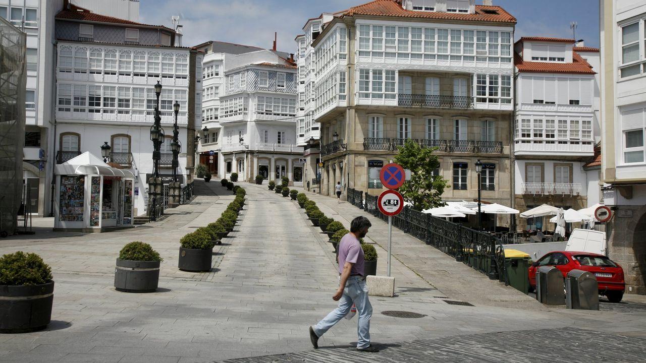 Asívotó A Coruña en las primeras elecciones poscovid.Betanzos inauguró ayer una exposición sobre la feria medieval, que este año no se puede celebrar debido al coronavirus. Precisamente este viernes 10 de julio debía comenzar la edición del 2020