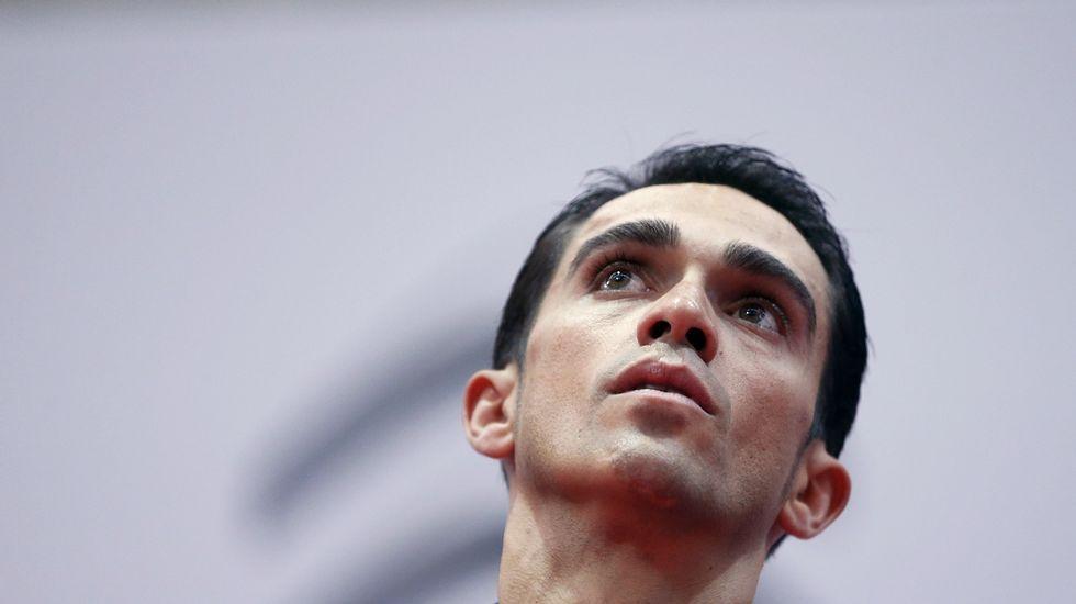 Contador se mostró feliz tras su triunfo en la Dauphiné.El malogrado ciclista belga Antoine Demoitie celebra su victoria en la Grand Prix de Marsella en 2015
