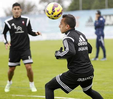 El Real Madrid-Celta, en fotos.Fabián Orellana se ejercitó con normalidad en la última sesión antes del partido.