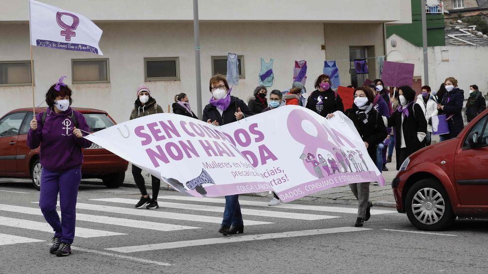 Protesta en A Mariña