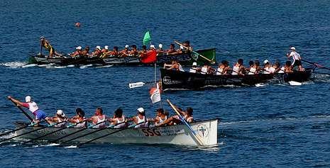 Robaleira y O Morrazo dieron la talla en la segunda bandera de Oleiros disputada en la mañana de ayer.