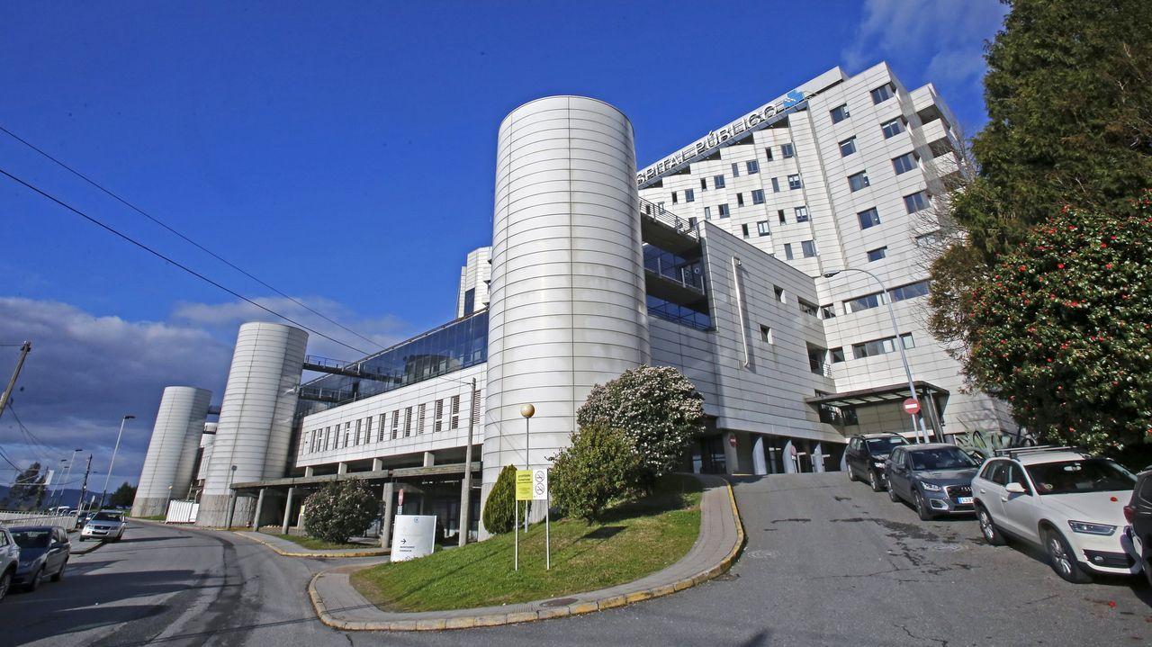 Los terrenos sobre los que se levantó el actual hospital Montecelo, en Pontevedra, son de titularidad vecinal