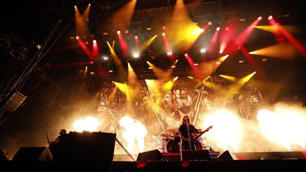 Concierto de Slayer en el recinto de Lavandeiras en la edición de 2019