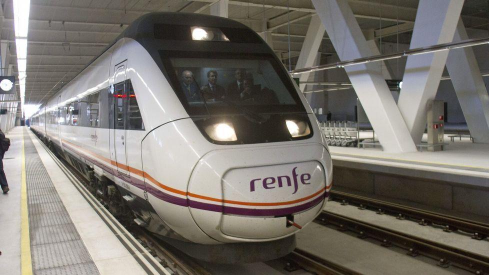 Homenaje en Las Palmas de Gran Canaria y Madrid.Alberto viajará el viernes a Vigo en el tren actual y volverá el domingo en uno de alta velocidad.