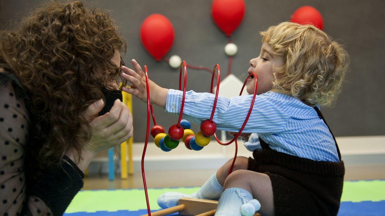 Curarse jugando, la receta de la estimulación temprana.Pazo de Meirás