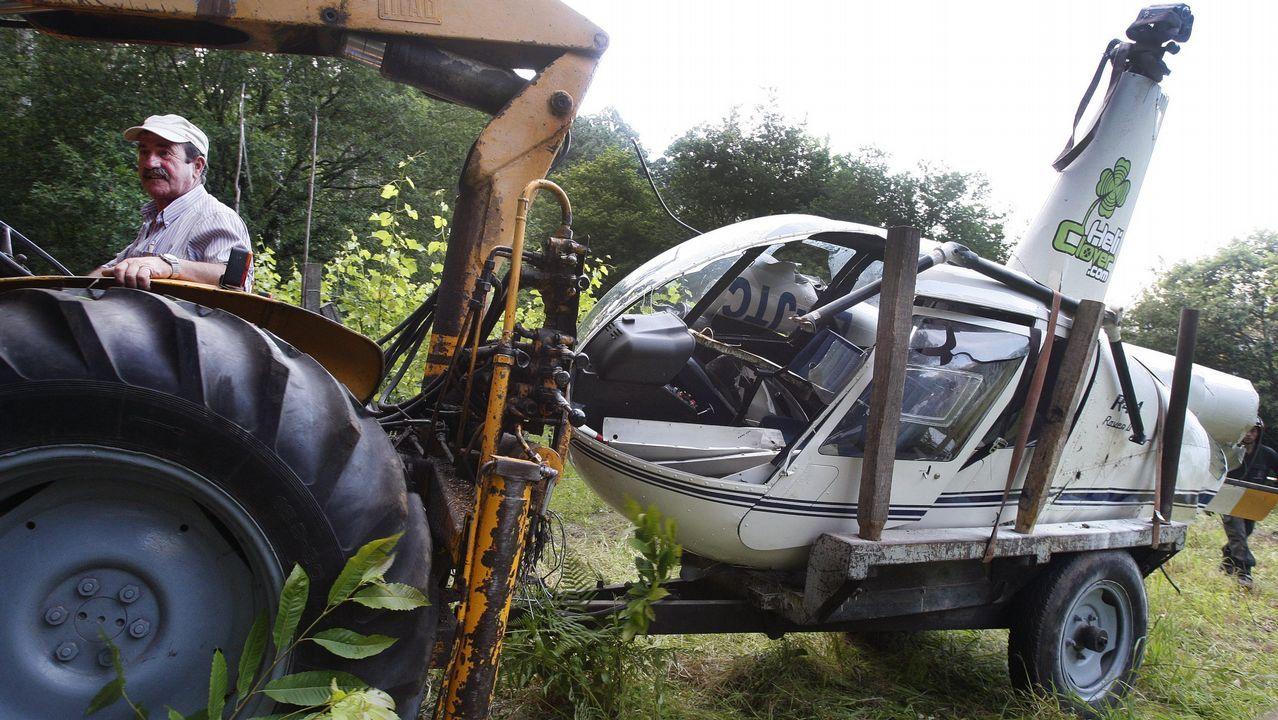 Graba en vídeo el accidente del avión en el que viajaba