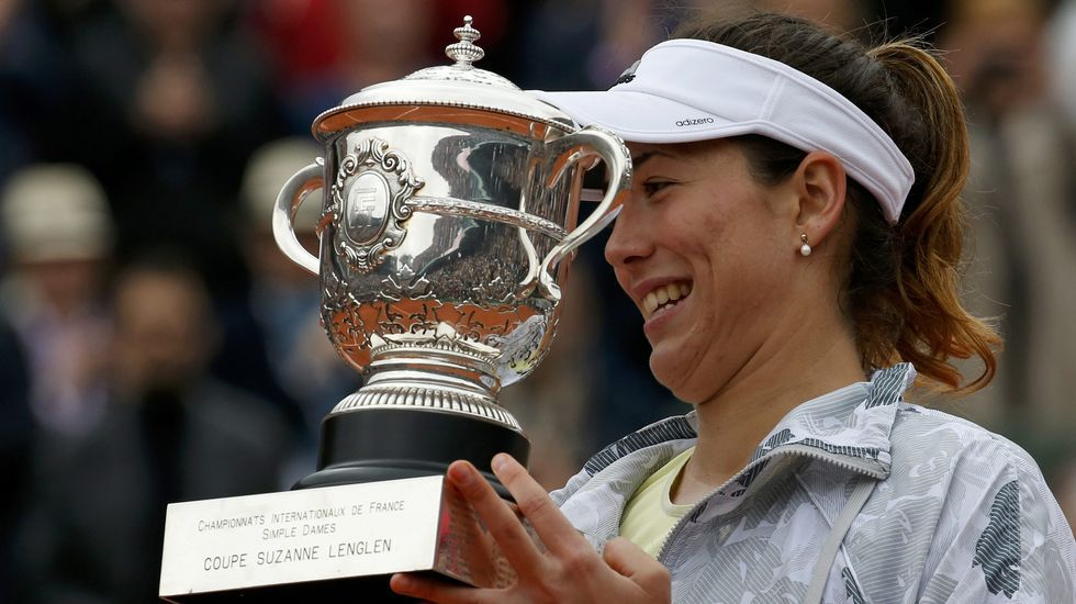 La victoria de Garbiñe en Roland Garros, en fotos