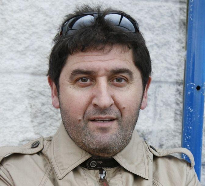 El concurso de entroido de Dumbría, en 50 imágenes.O concelleiro Raúl González.