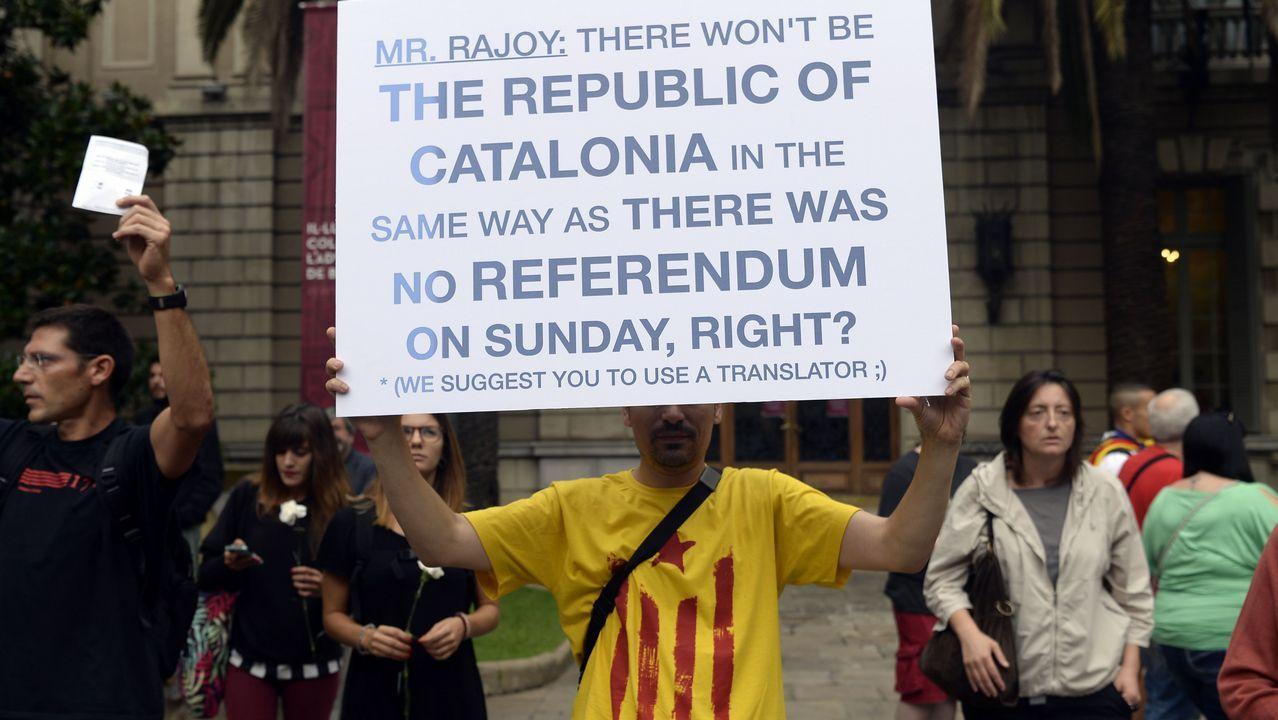 Huelga general en Cataluña.