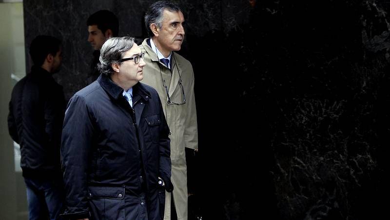 Responsables de recursos humanos del banco firmaron con los sindicatos el acuerdo en Santiago.