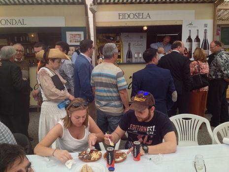 Fiesta de la lamprea en Arbo....Fiesta de la lamprea