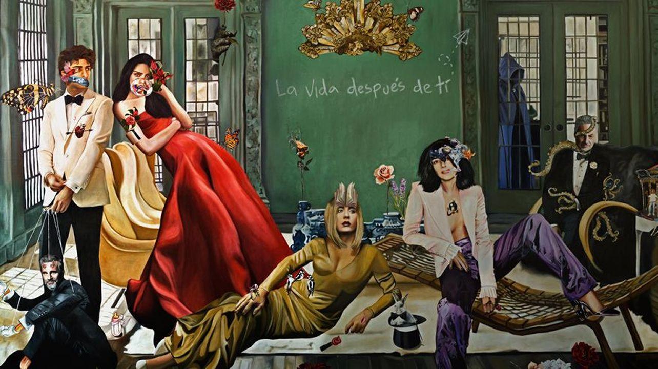 Richard Gere y la gallega Alejandra Silva posaron por primera vez juntos en el estreno de «Invisibles» en Madrid.