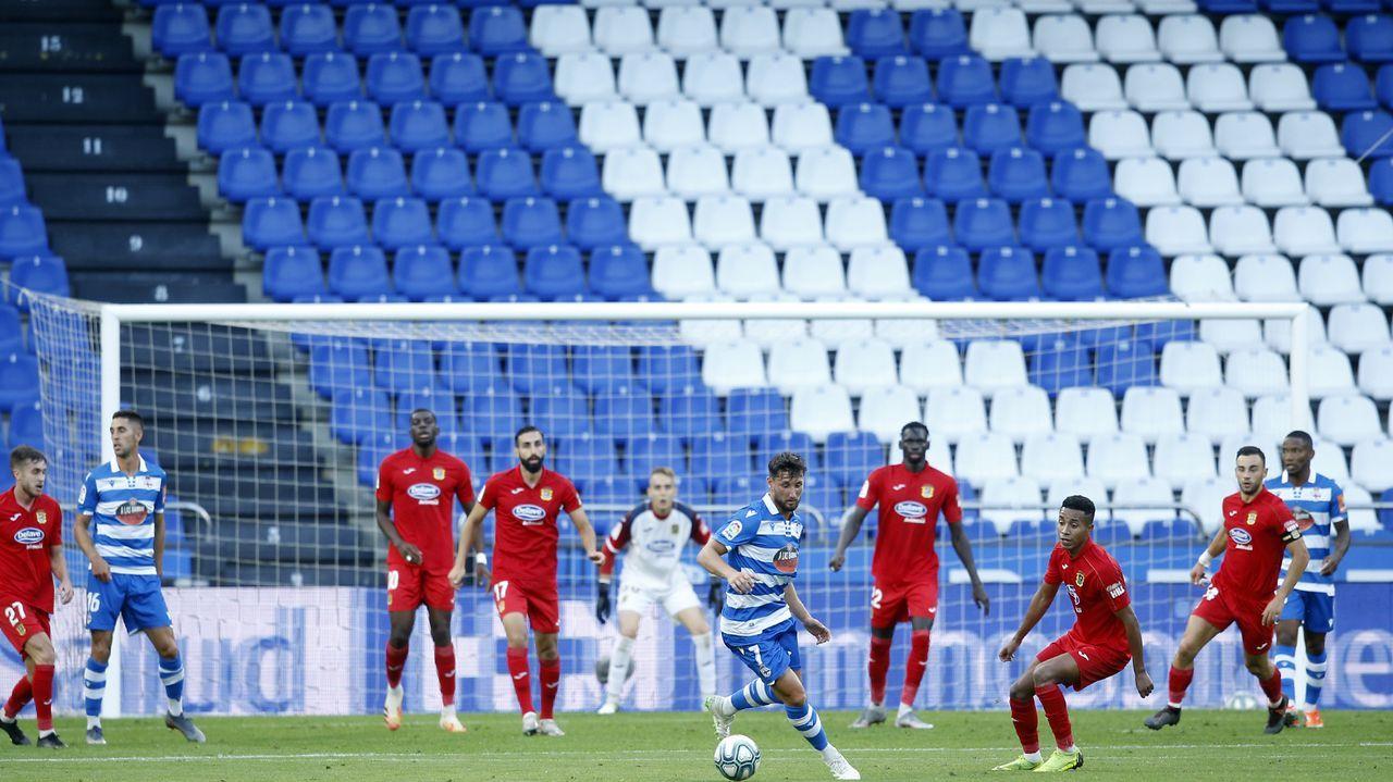 El Deportivo-Fuenlabrada se disputó finalmente el 7 de agosto del 2020