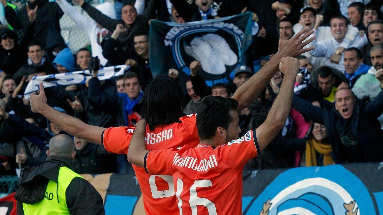 También anotó ante el Celta en el partido de vuelta en Balaídos
