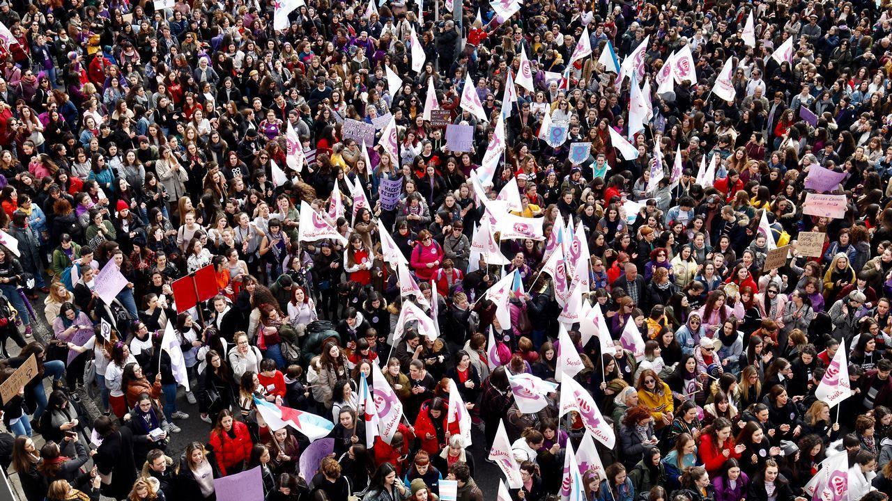 Manifestacion en Santiago