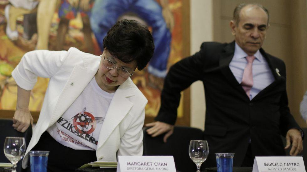 Margaret Chan, directora de la OMS