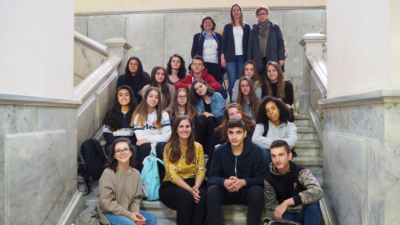 La creatividad educativa tiene premio en Lugo.Balseiro se reunió ayer con la subdelegada del Gobierno