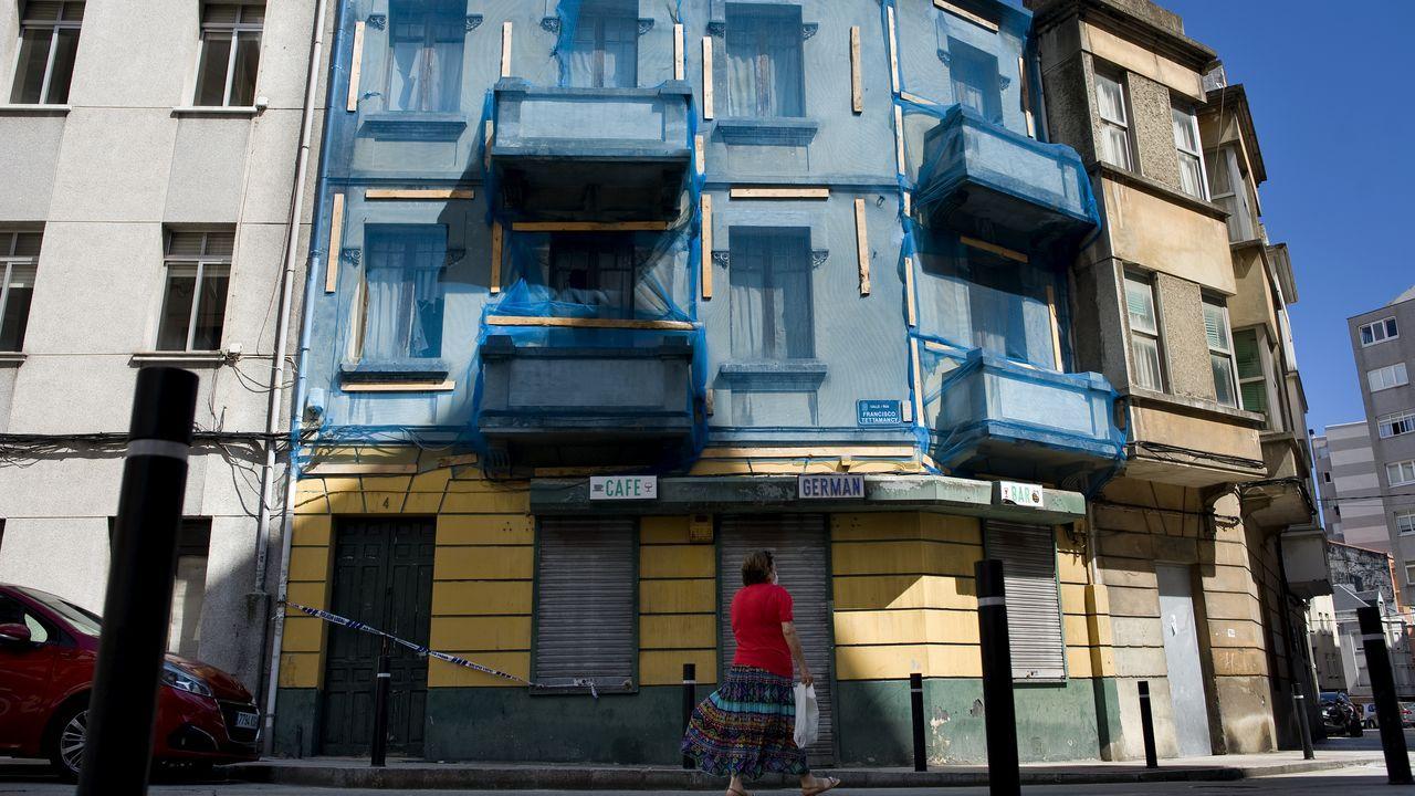 Los 4 planes parciales de A Zapateira.Zonas, como esta de A Zapateira, ya en el municipio de Culleredo, han experimentado un repunte del interés, y ventas, por sus parcelas disponibles