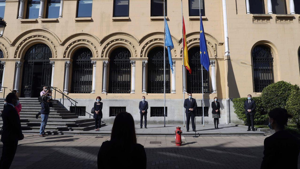 Asturias, «un pueblo roto por el dolor».Pleno del Ayuntamiento de Gijón del miércoles 27 de mayo