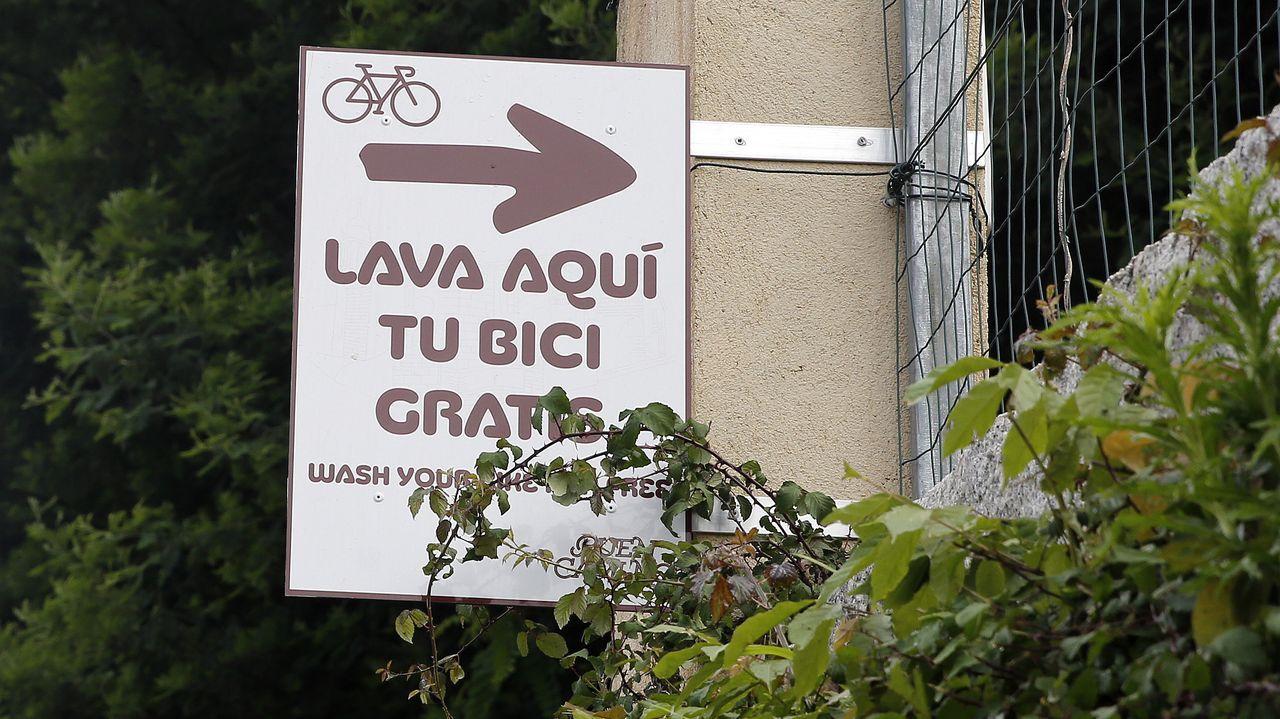 Tres ciclistas de Caldas, que iniciaron ruta en su tierra y que pretendían cubrir una etapa del Camino