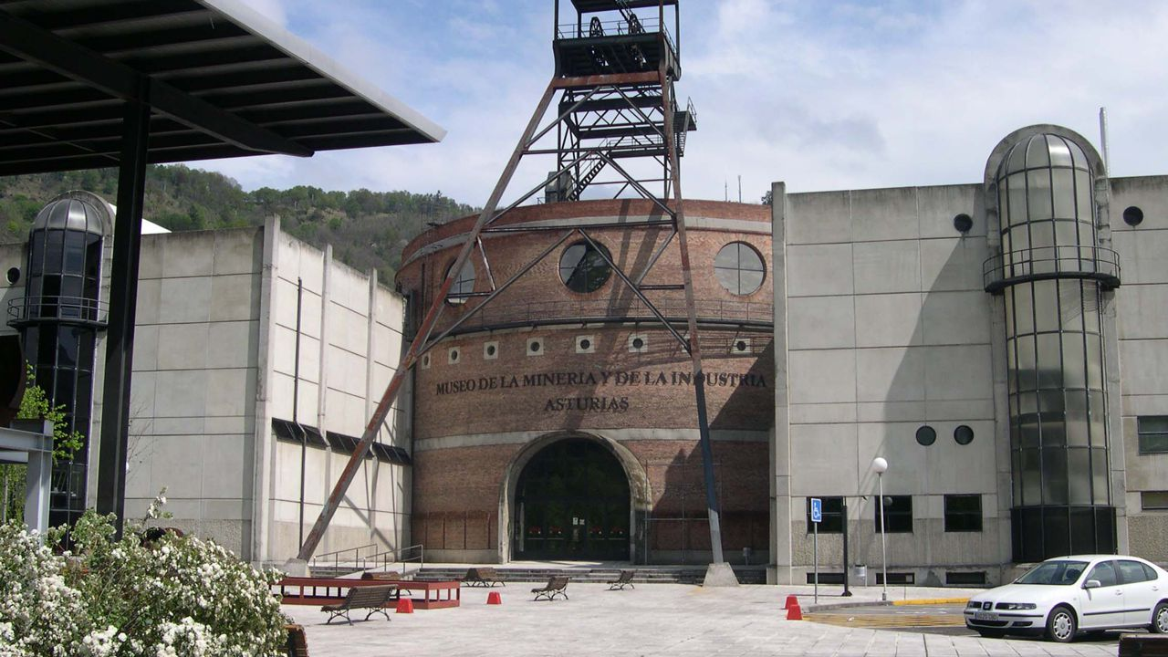 Museo de la Minería.La joven Ana Fidalgo, en su destino Erasmus