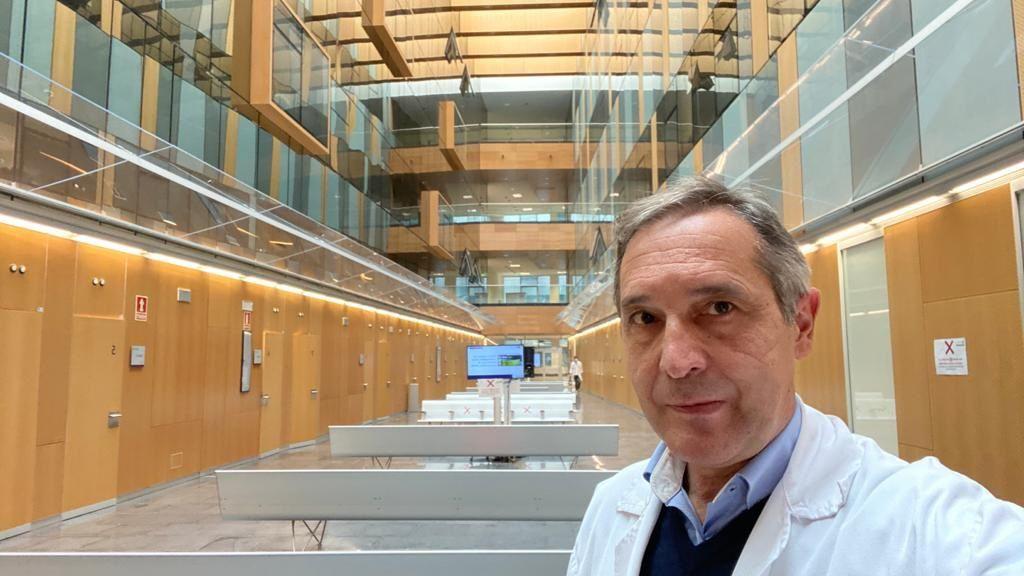 El jefe de Servicio de Cirugía General del HUCA, José Granero