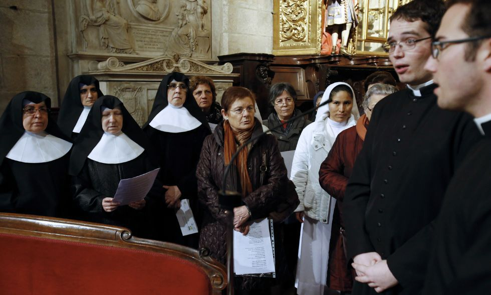 Ourense acogerá un congreso cuyo himno fue grabado por religiosos en la Catedral.