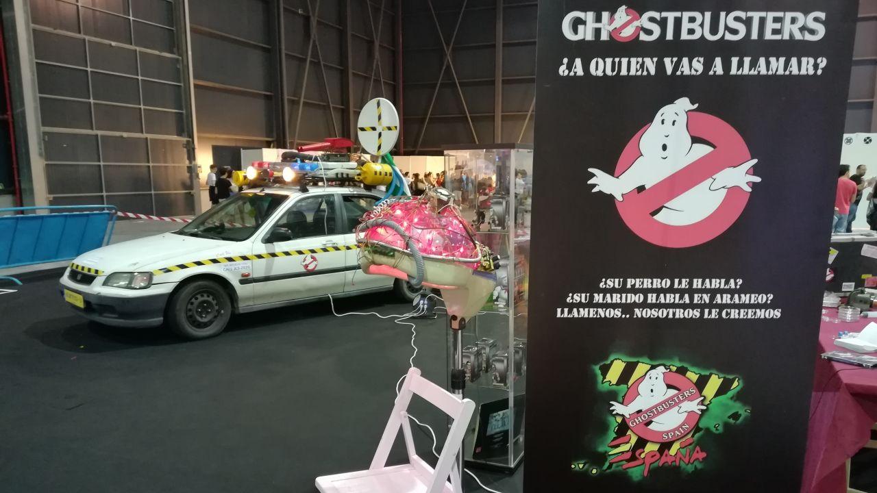 El icónico coche de los Cazafantasmas