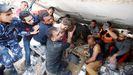 Gaza se desangra entre misiles y escombros